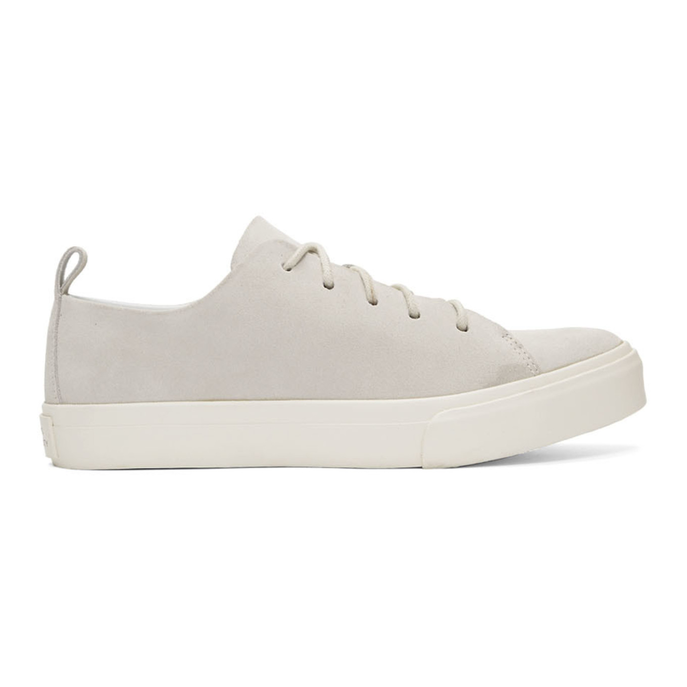White Suede Mike Low Sneakers by Saturdays Nyc