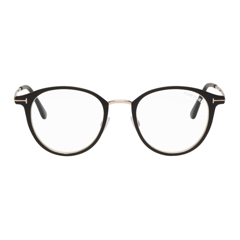 Black Tf 5528 B Glasses by Tom Ford