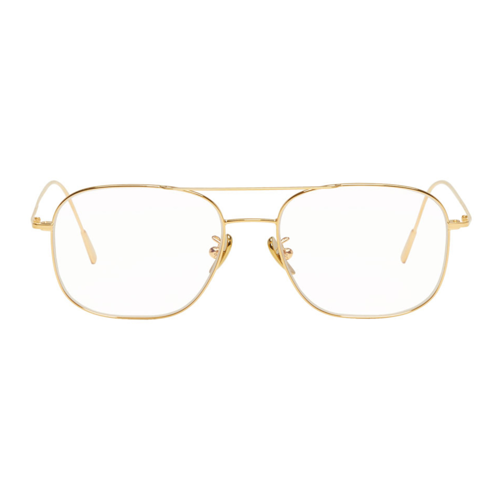 Gold 1267 Glasses by Cutler And Gross
