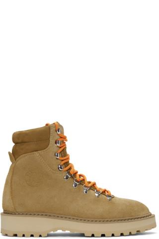 3b264fea31d Don t Miss This Deal  Diemme - Beige Suede Monfumo Boots