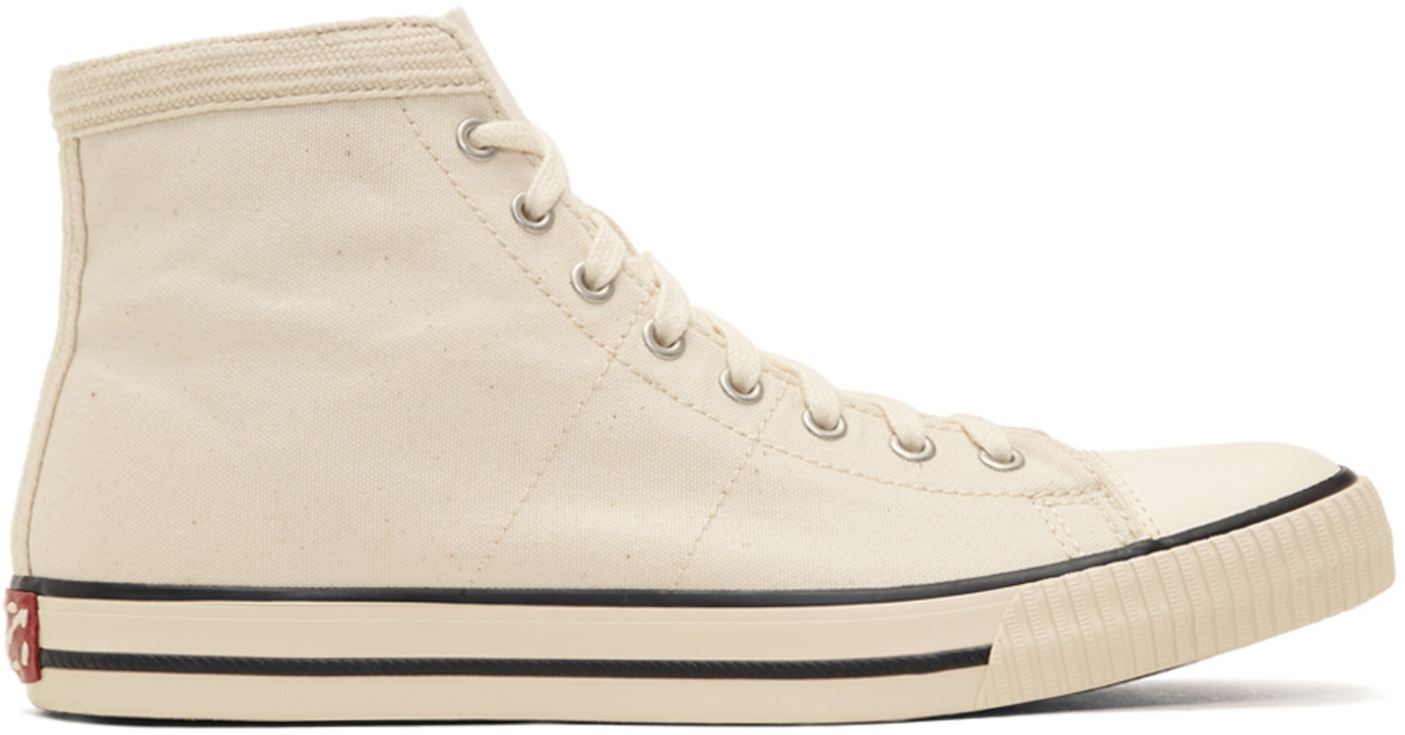 Visvim Ivory Keifer High-Top Sneakers