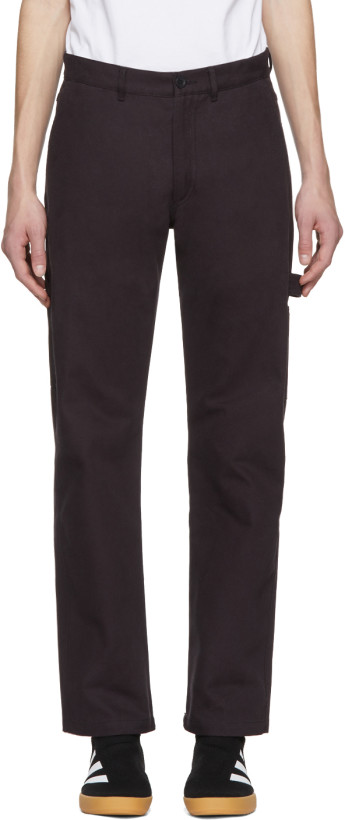 Gosha Rubchinskiy Navy Cotton Army Trousers