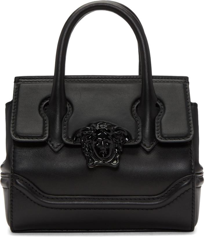 Versace Black Mini Empire Bag