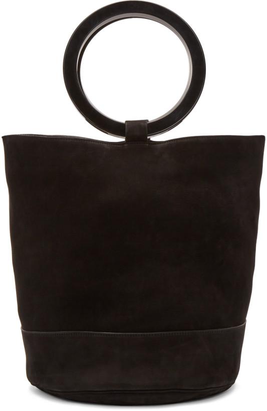 Simon Miller Black Nubuck Bonsai Bag