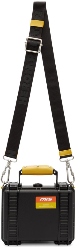 Heron Preston Black Tool Bag