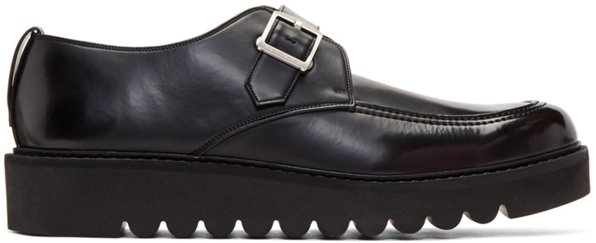 Stella McCartney Men's Black Odette Monkstrap Shoes