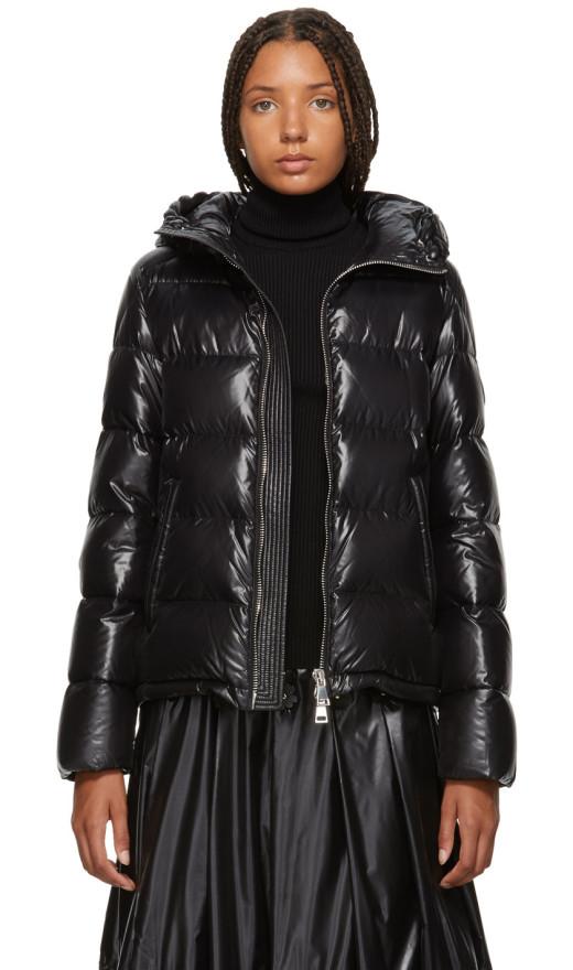 Moncler Genius - 6 Moncler Noir Kei Ninomiya Black Down Almandine Jacket