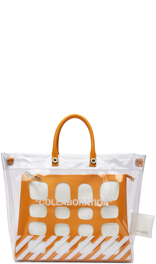 Heron Preston - Transparent Off White Edition Collaboration Duffle Bag