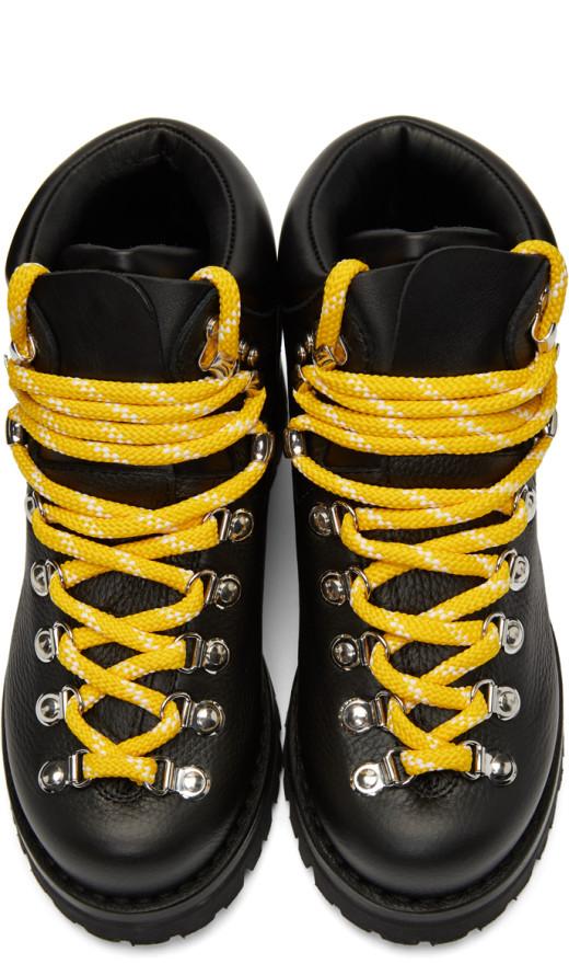 Proenza Schouler - Black Hiking Boots