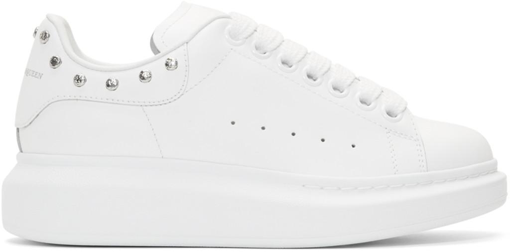 Alexander McQueen SSENSE Exclusive & Glitter Oversized Sneakers
