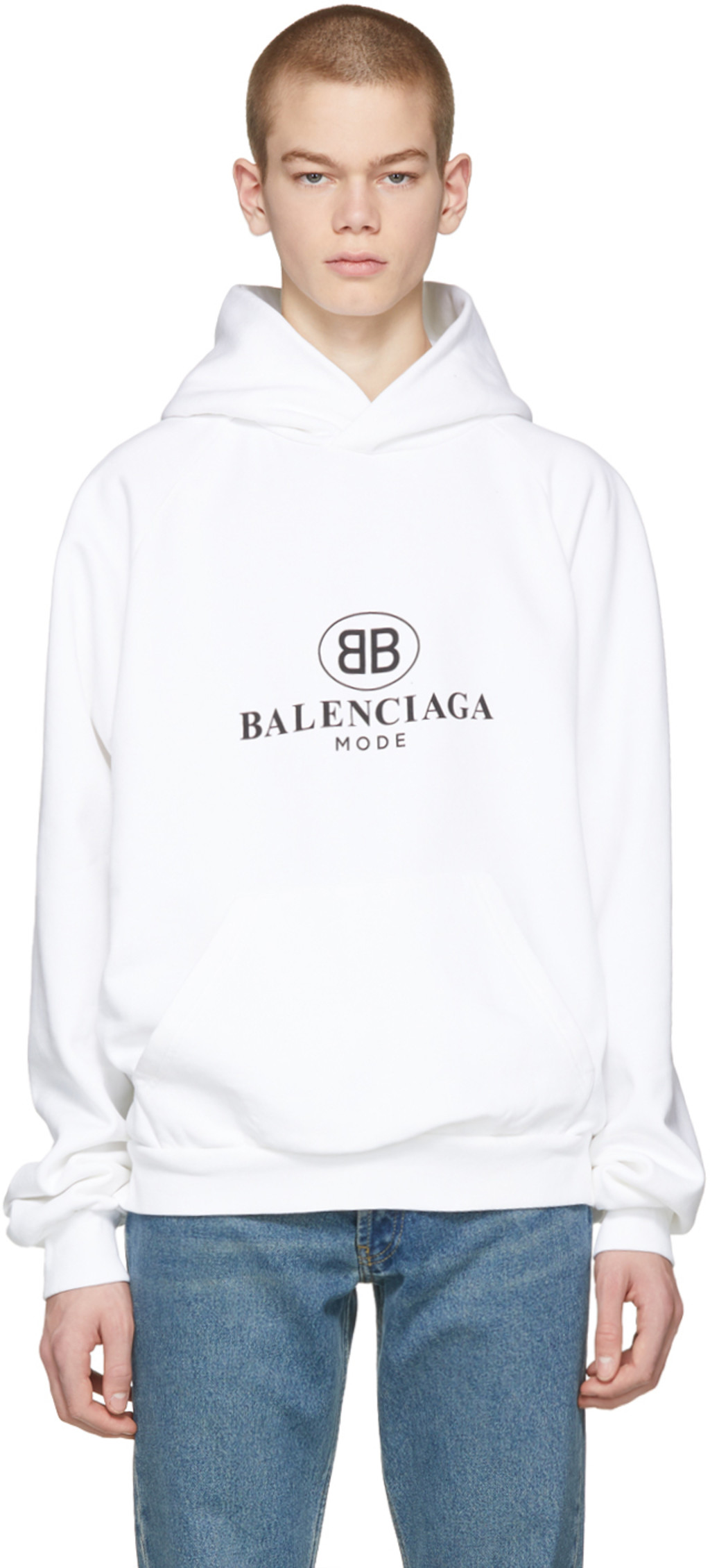 balenciaga hoodie womens gold