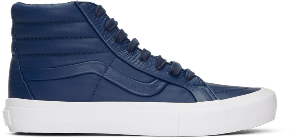 Marsèll Navy 'Stitch + Turn' Sk8-Hi Reissue ST Sneakers