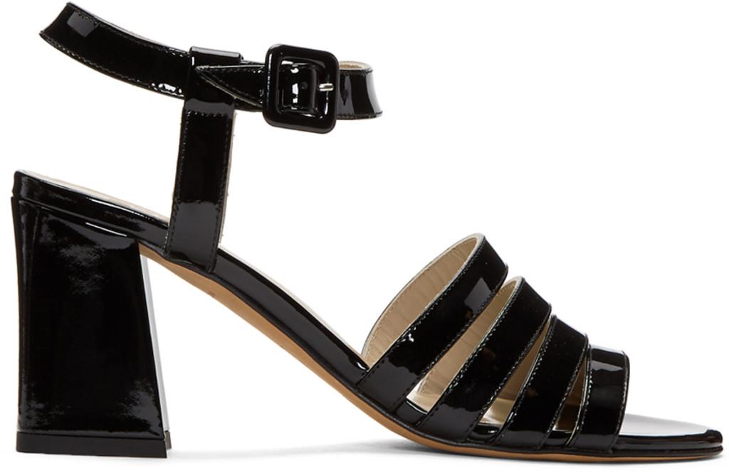 Alexander McQueen Pink Daria Memento Sandals