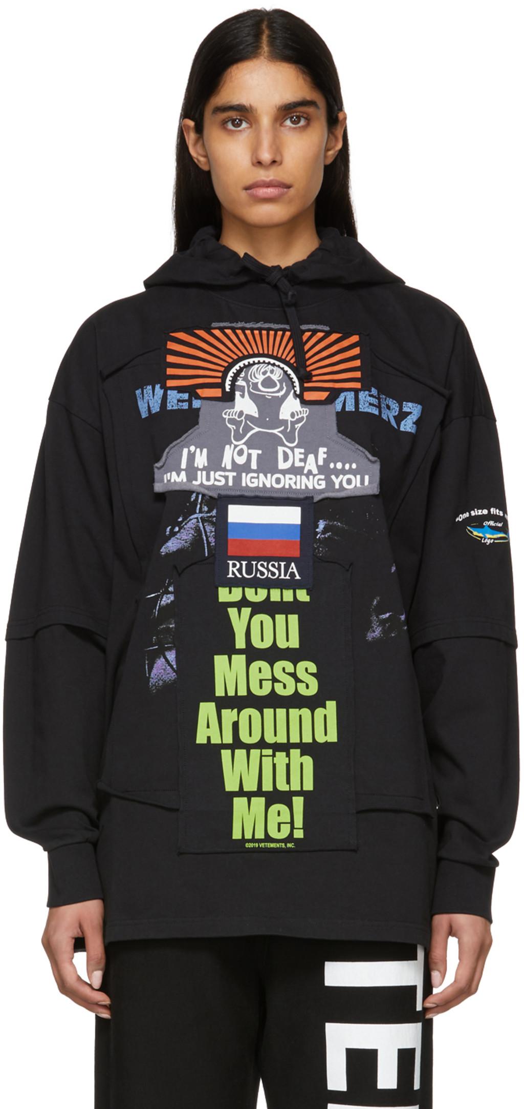 Vetements Sweaters For Women Ssense Uk