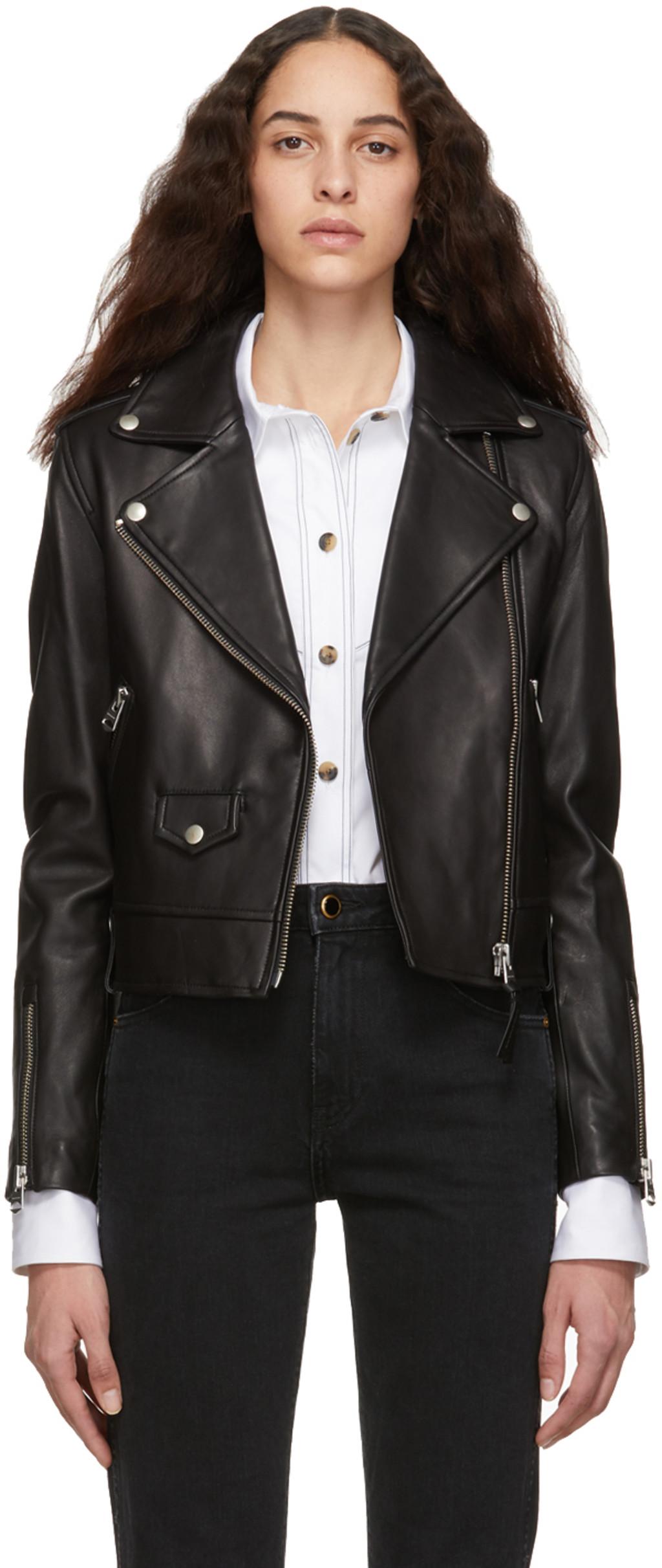 Designer Leather Jackets For Women Ssense Canada