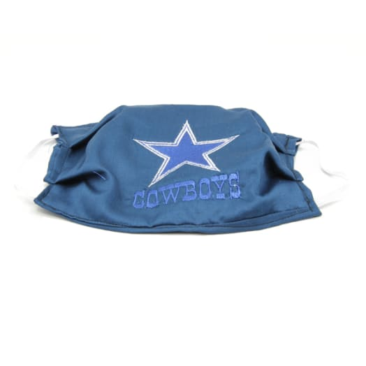 Cloth Mask - Cowboys - Blue