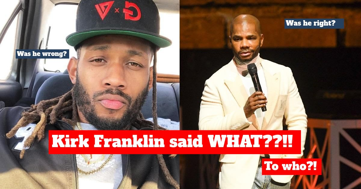 The Kirk Franklin Family Drama