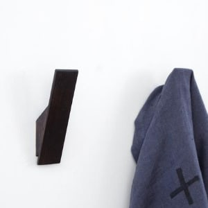 Utology Scorched Ash Wooden Wall Hook