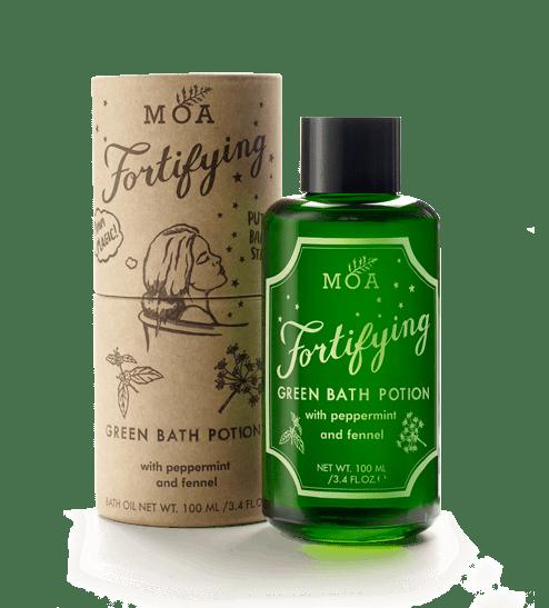 Magic Door Store Large Fortifying Green Bath Potion