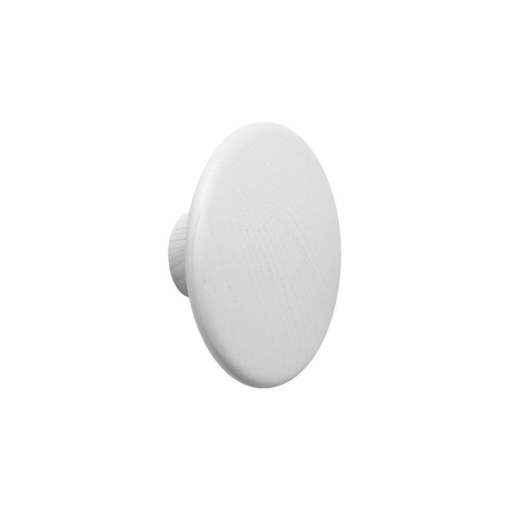Muuto White Extra Small Dot Coat Hook