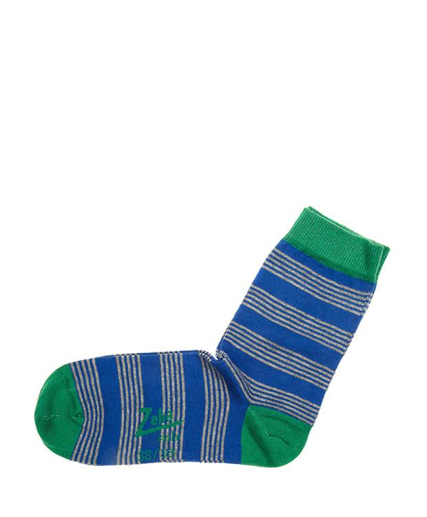 Zeha Berlin Striped Cotton Socks