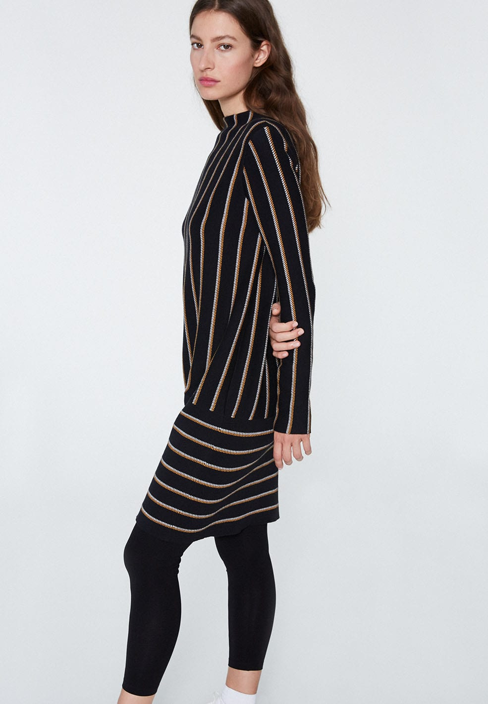Armedangels Keoni Vertical Stripes Dress