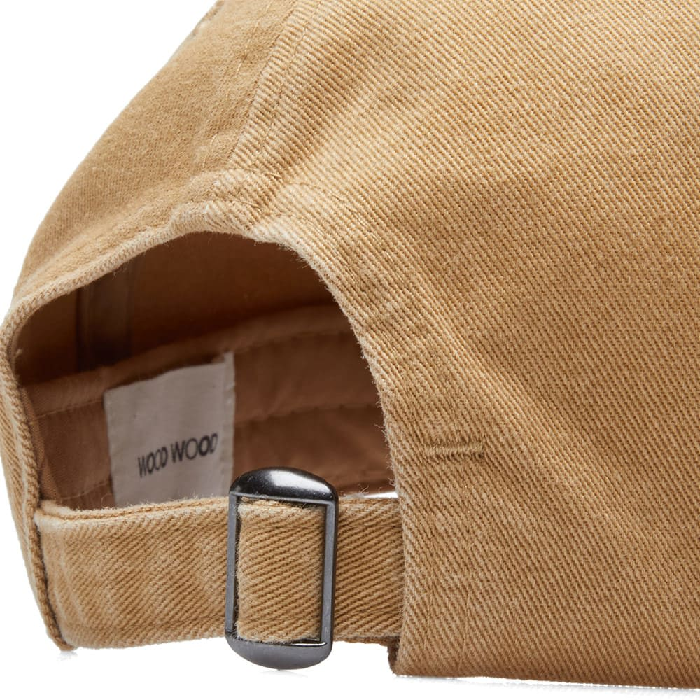 Wood Wood Brown Low Profile Cap