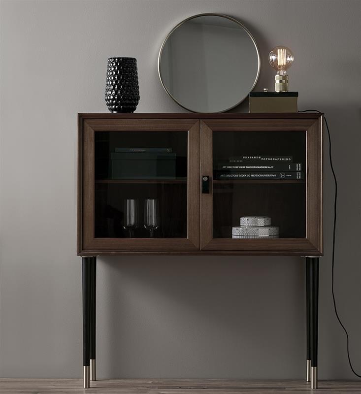Markslojd  Black Marble and Brass Etui Table Lamp