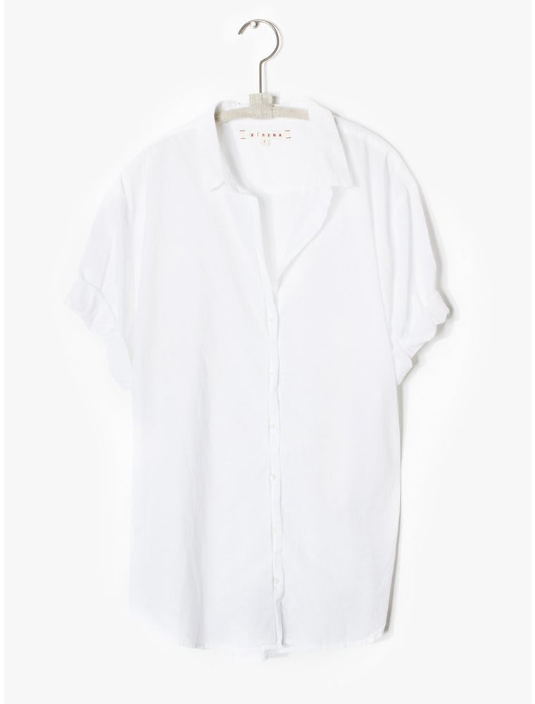 Xirena White Channing Shirt