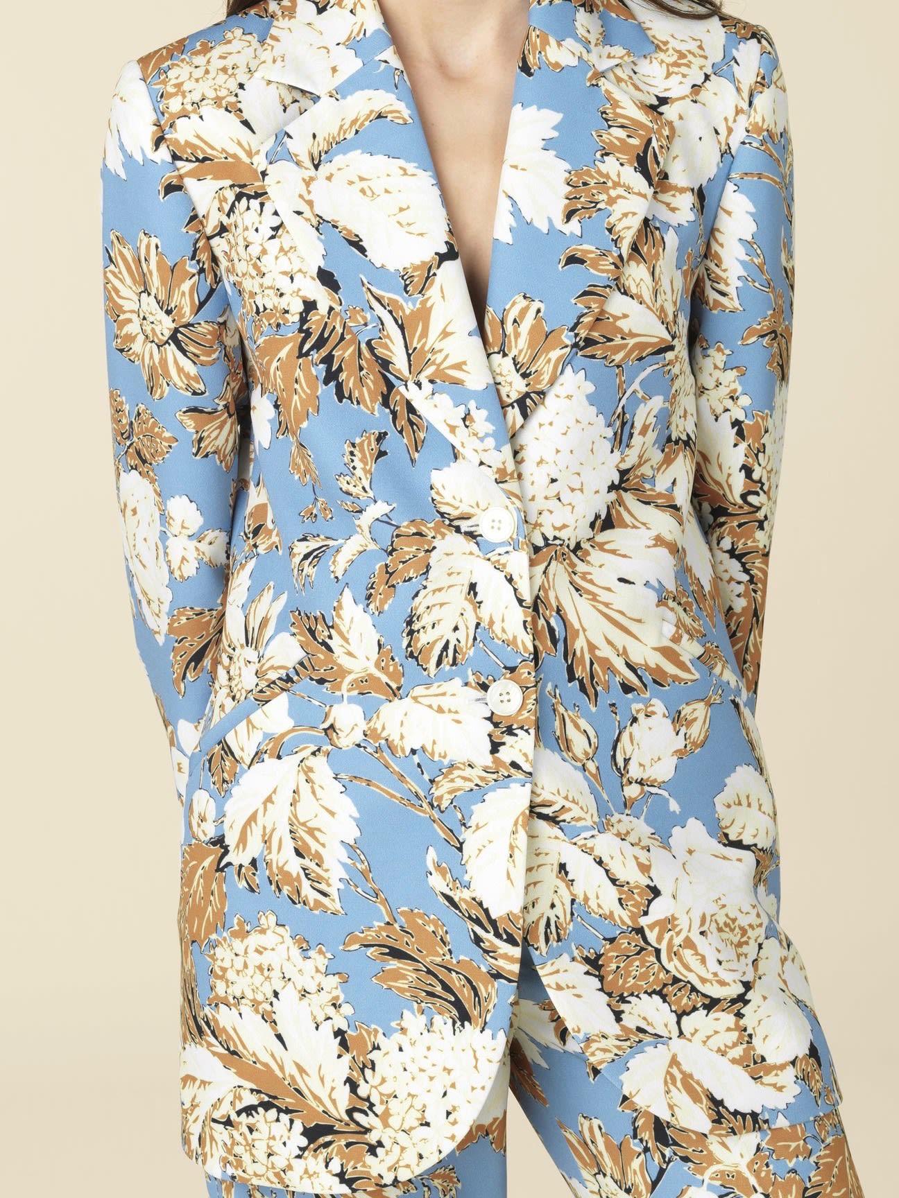 Stine Goya Florence Suit Jacket // Blue Hortensia