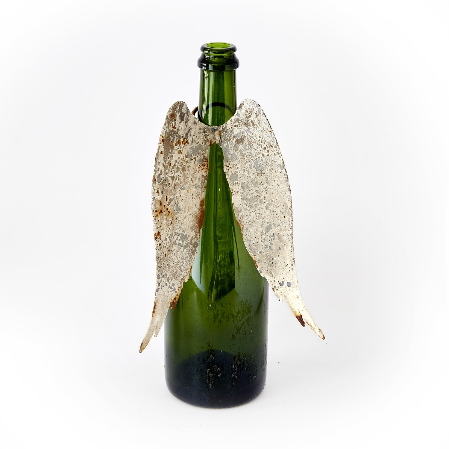 PJH Designs Hand-Forged Wings For Bottle