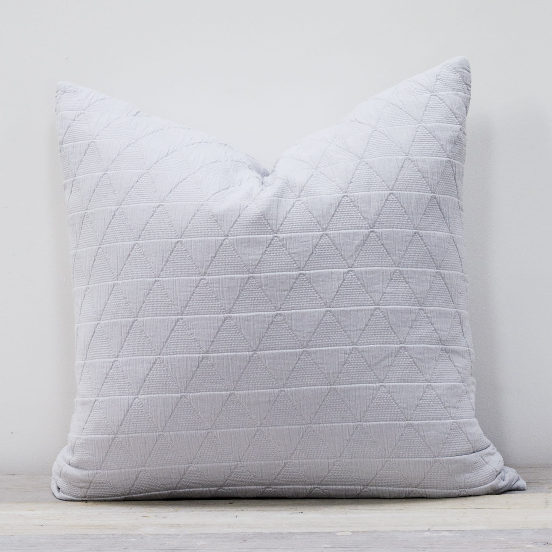 Also Home Silver Grey Stockholm Pillow