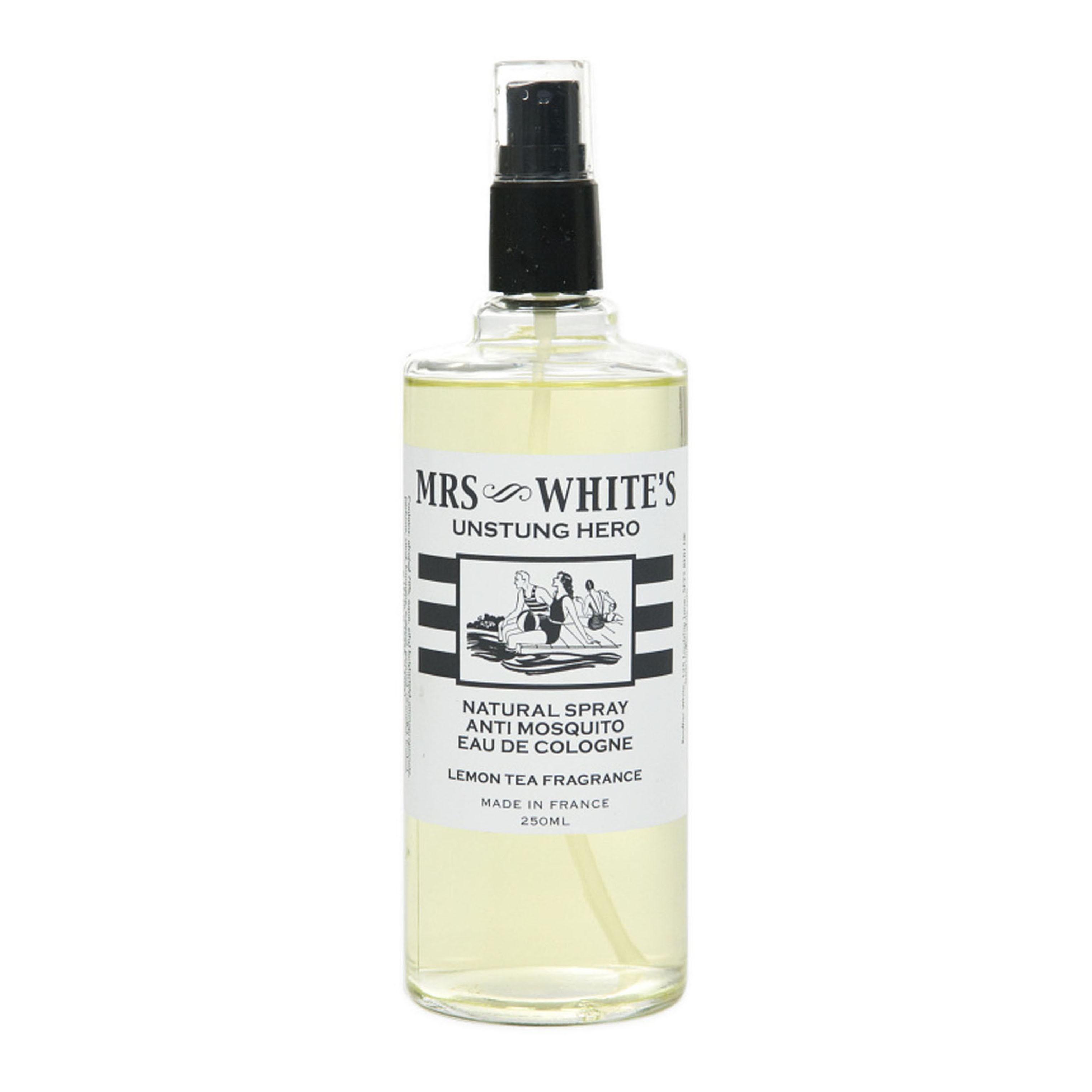 Mrs White's  Unstung Hero Anti Mosquito Eau de Cologne 250 ml