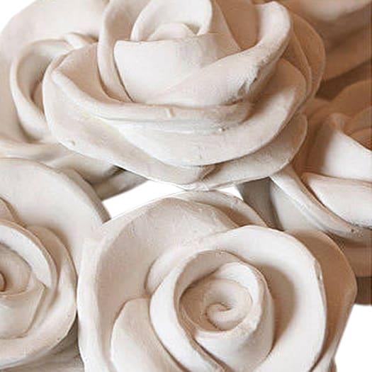 Scented Ceramic Roses Set of 3