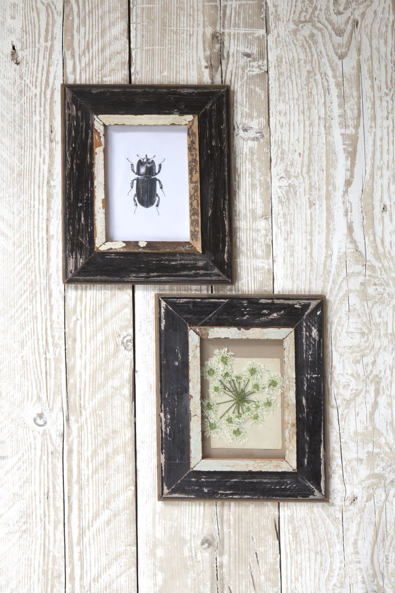 Dassie Artisan Rustic A5 Black Recycled Wooden A5 Frame