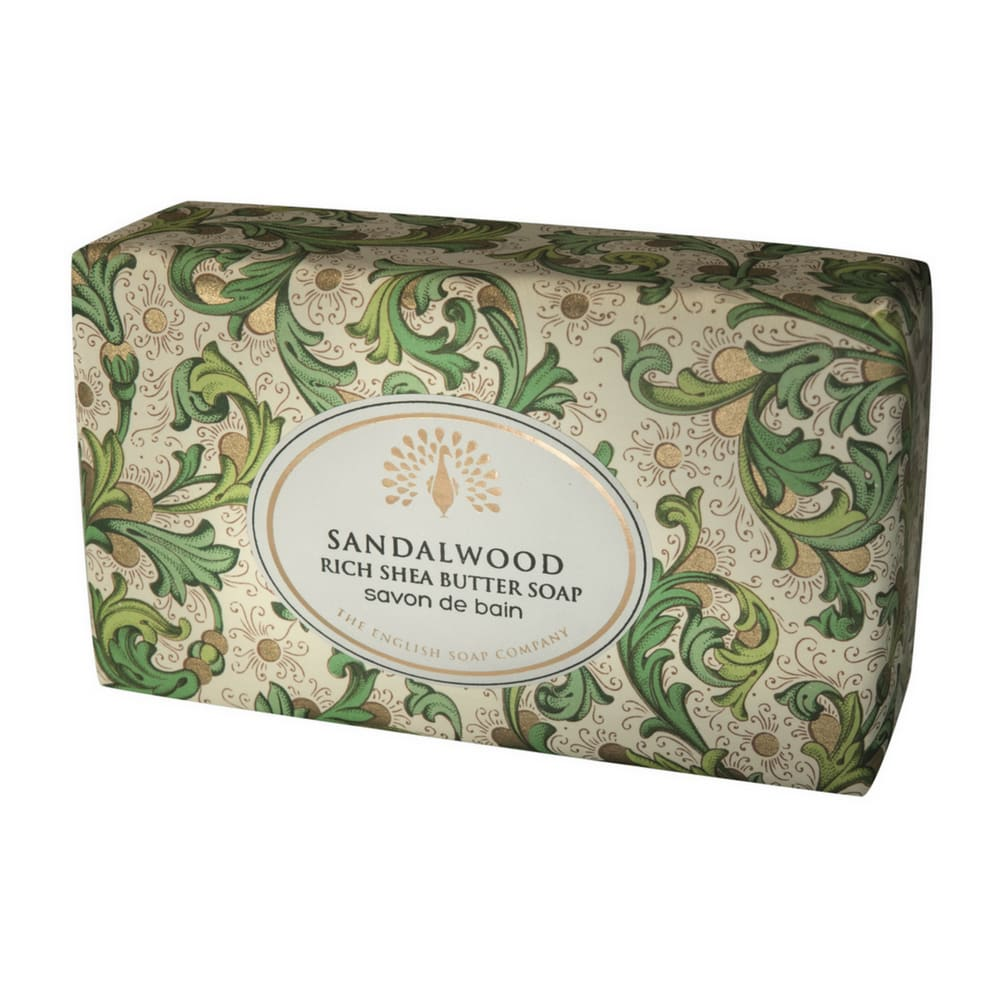 The English soap company Sandalwood Vintage Wrapped Soap