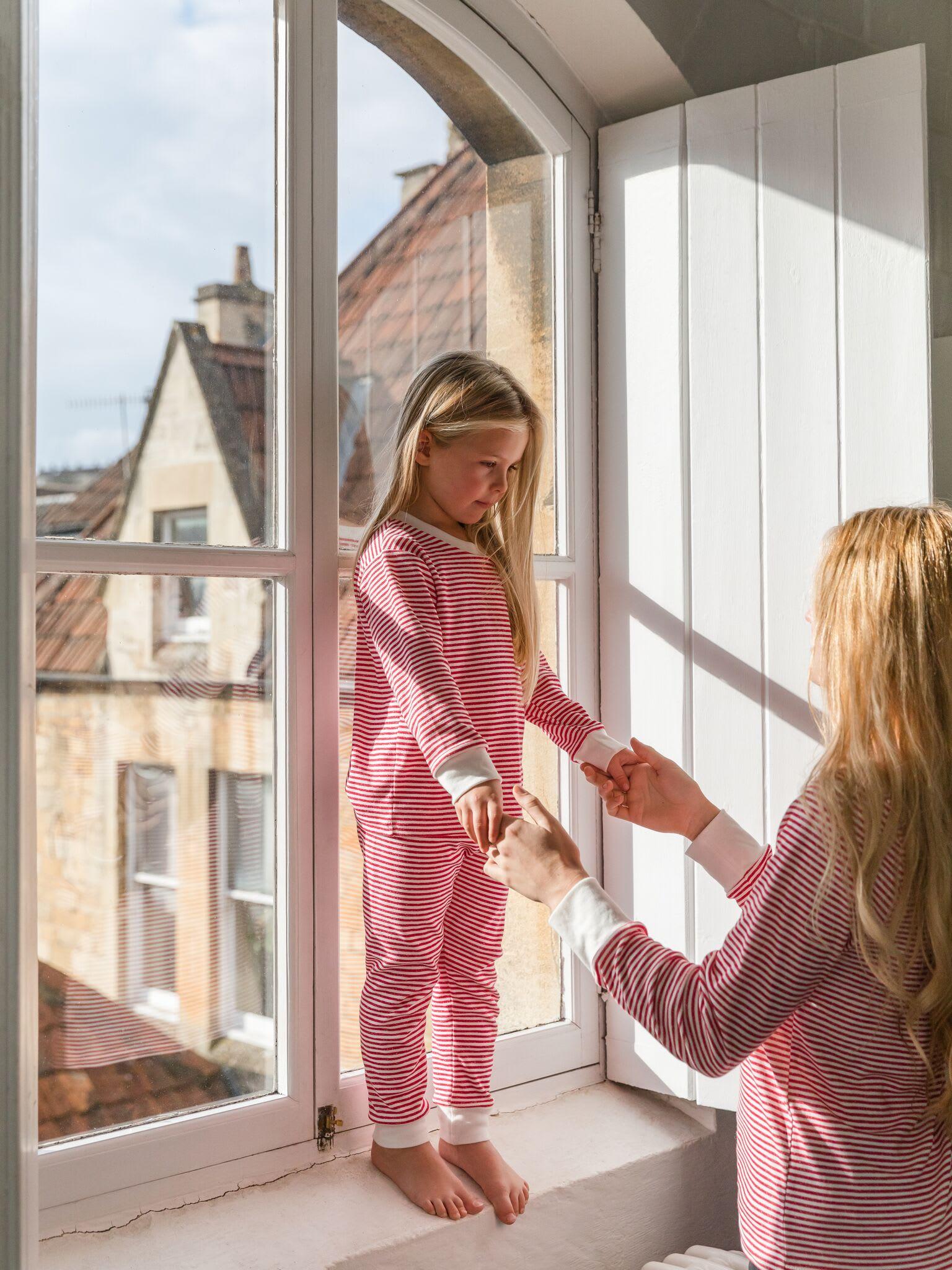 Sleepy Doe Berry Stripe Kids Pyjamas
