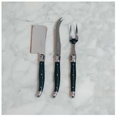 Laguiole 3 Pieces Cheese Knife Set