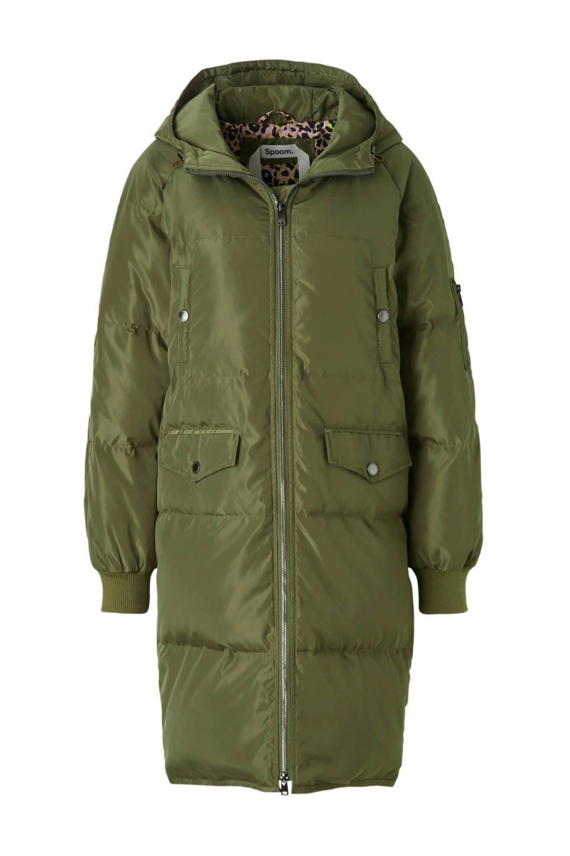 Spoom Green Army Valery Down Coat