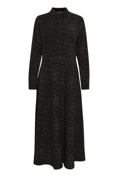 B.Young Leopard Print Dress