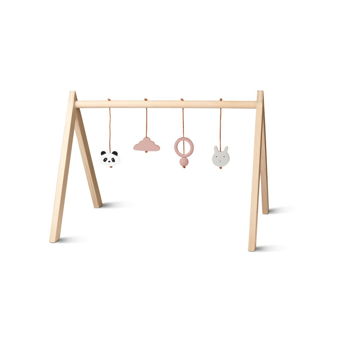 Liewood Wooden Playgym with Accessories - Sweet Rose