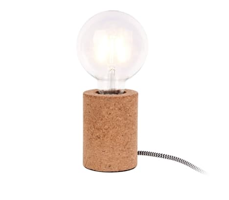 Present Time Cork Table Lamp