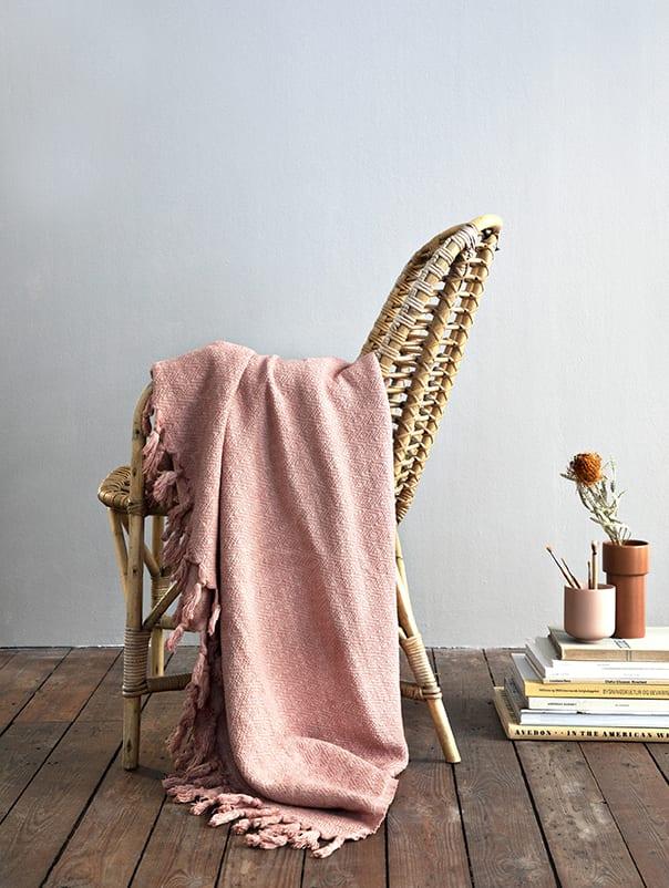 Algan Large Rose Cotton Bedcover