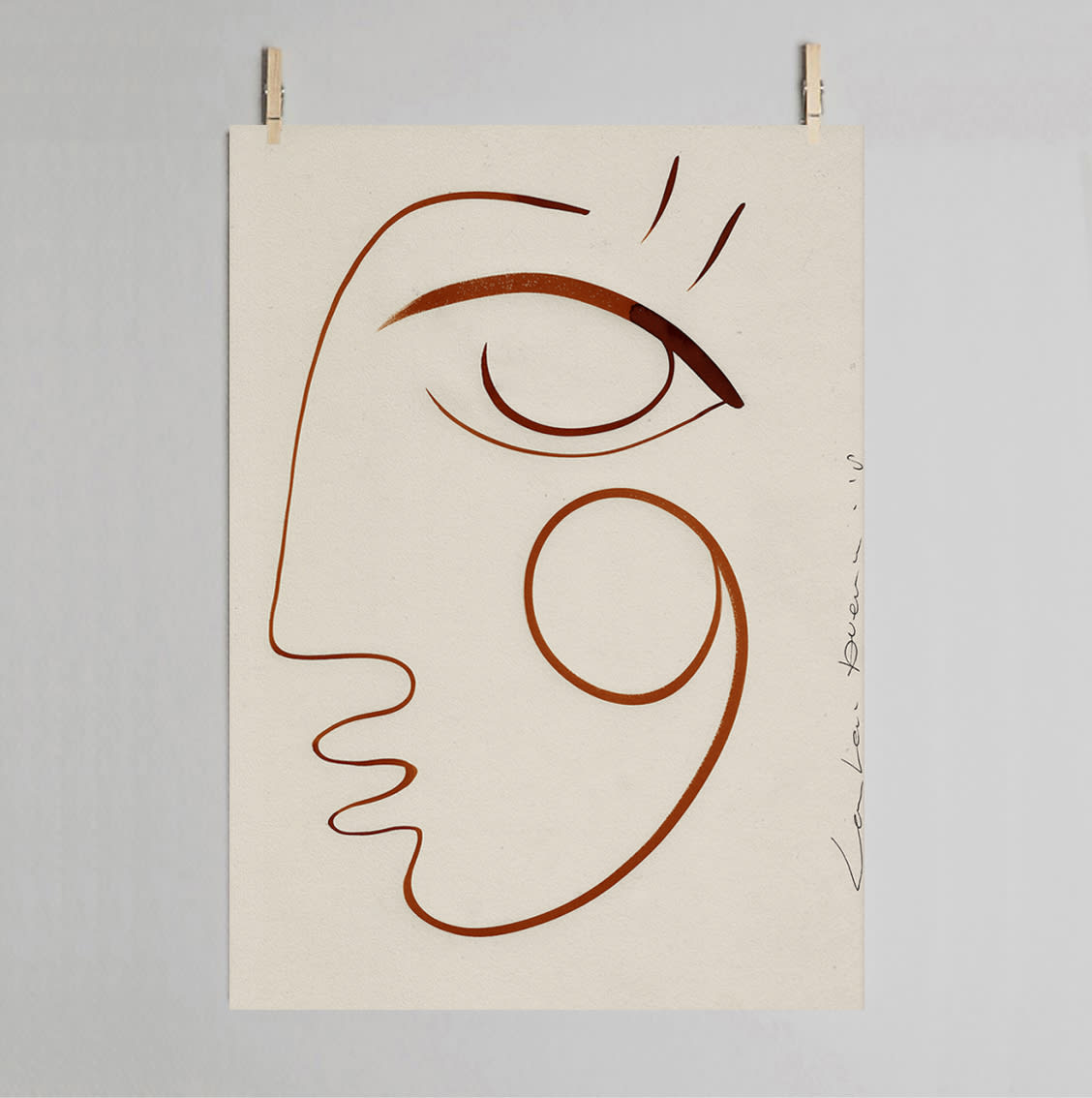 LouLou Avenue Full Of Love 30 X 40cm Art Print