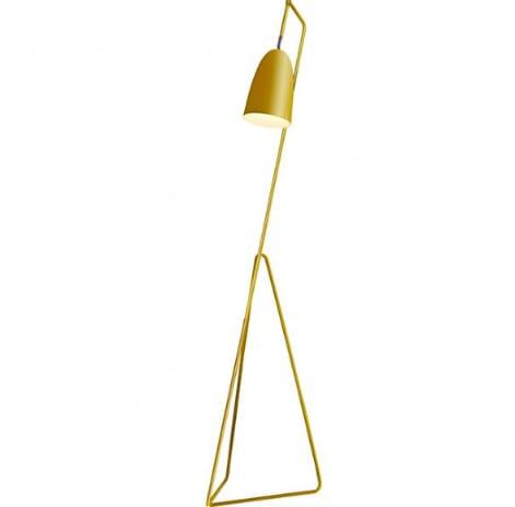 Gallery Direct Yellow Vallen Floor Lamp