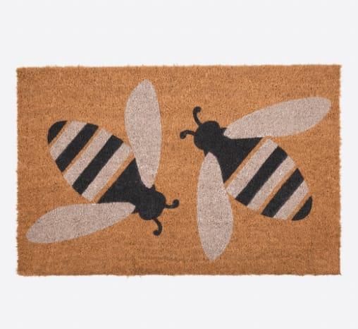 Anorak Yellow Buzzy Bee Doormat