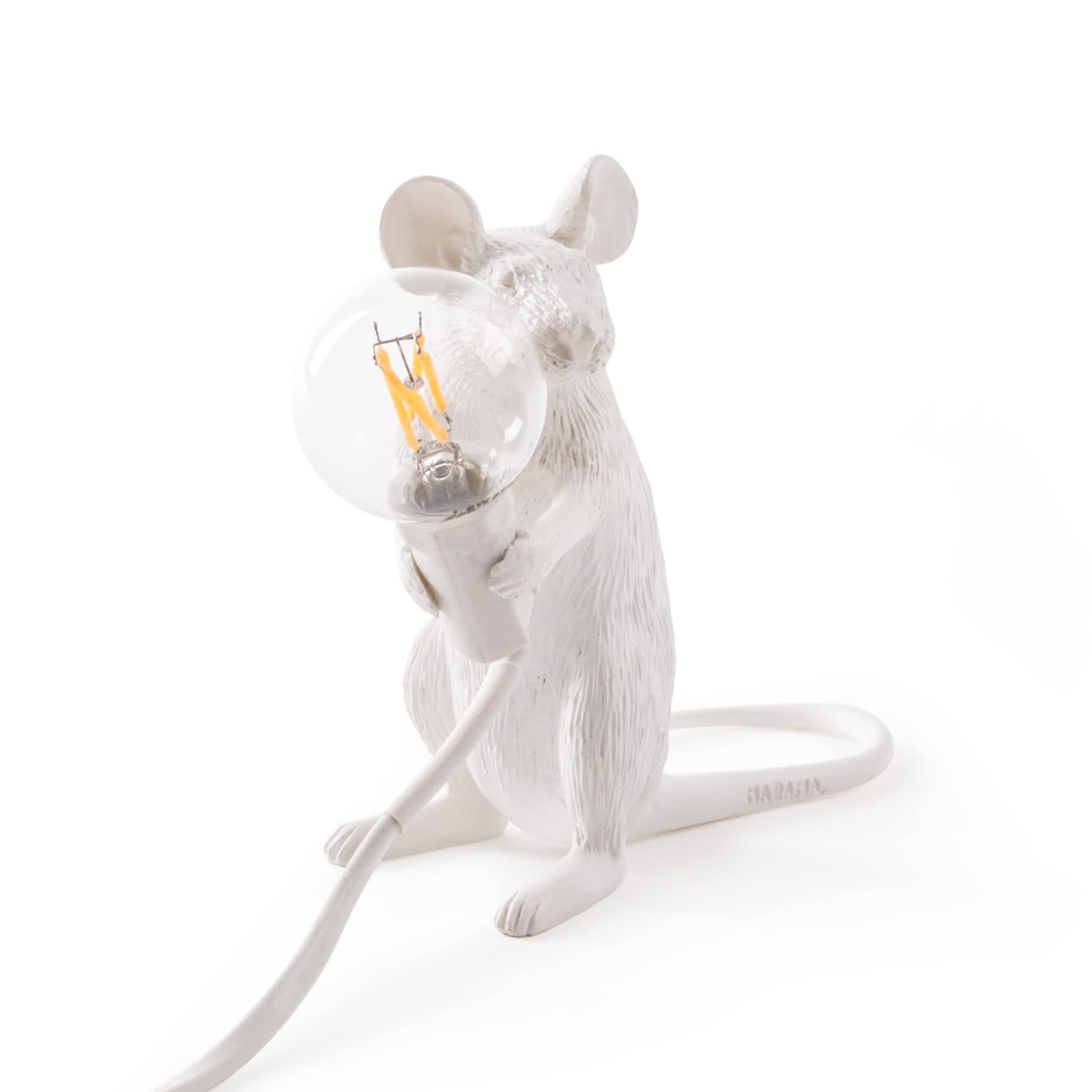 Seletti Sitting Mouse Lamp
