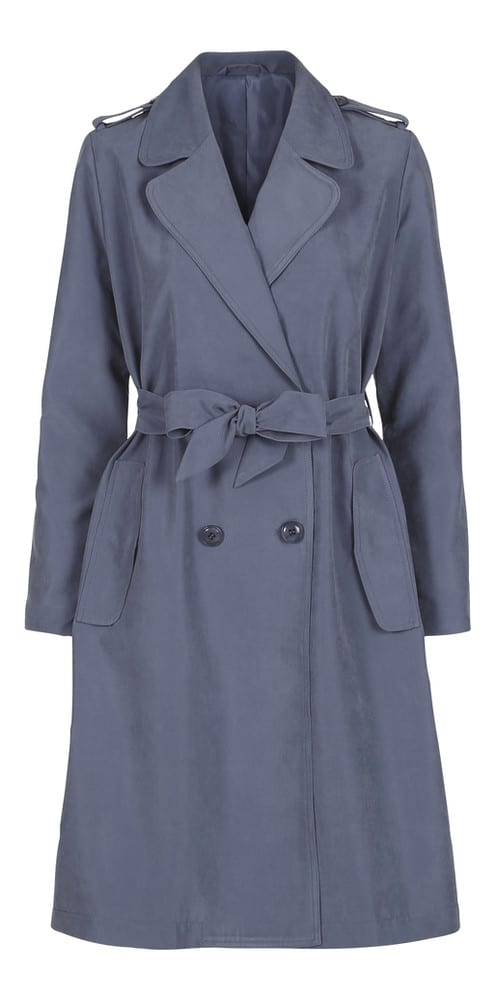 2nd Day Winnie Cupro Trench Coat