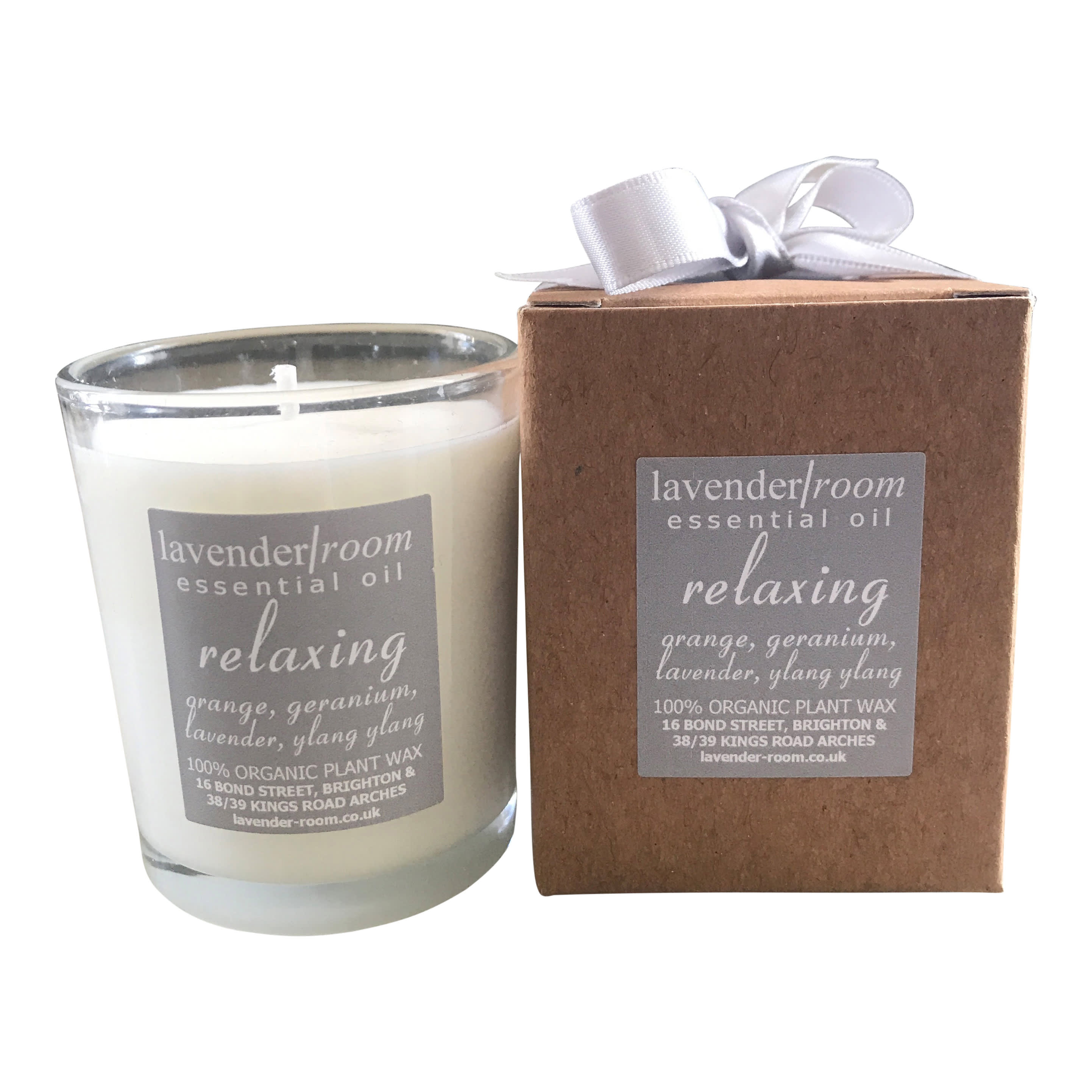 lavender room Small Organic Scented Candle