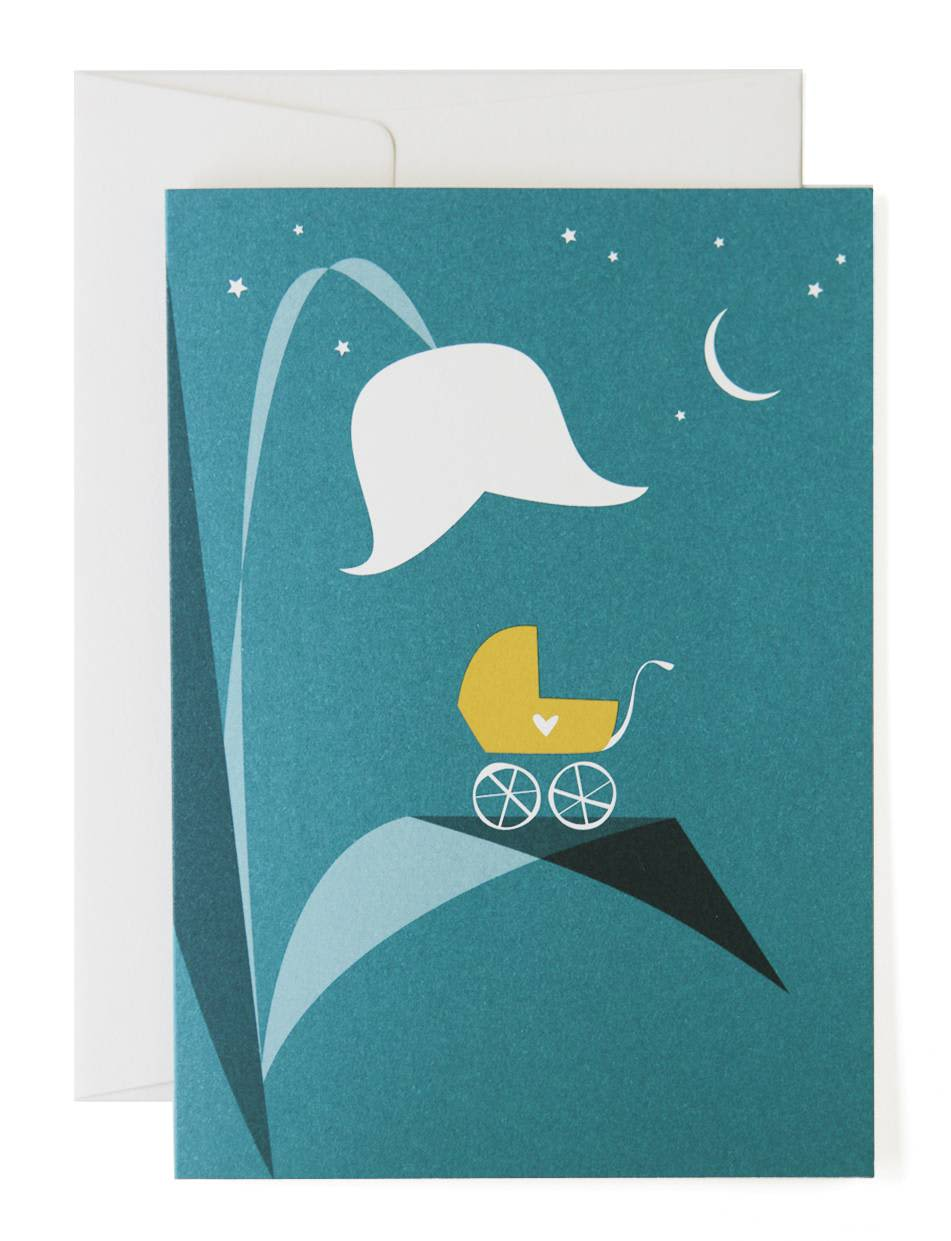 Pleased To Meet New  Arrival Greeting Card